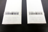 2 New Genuine Apple TV Remote Controls Model A1156, Original Packaging