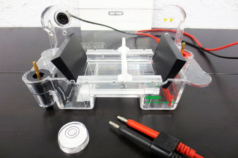 "Bio-Rad Sub Cell GT Mini 10"" Electrophoresis Cell w/ 2 Combs 2 Gel Trays Manual"