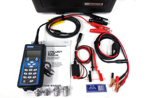 New Midtronics inTELLECT EXP-1000 HD Expandable Electrical Diagnostic Platform Kit