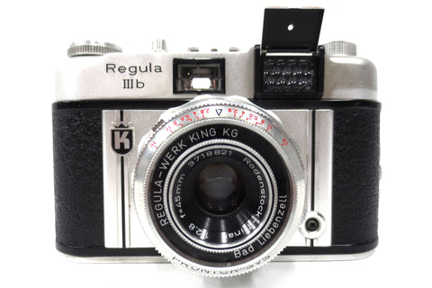 Vintage Regula IIIb 35mm Camera w/ Rodenstock-Trinar 2,8/45mm Regula-Werk Lens