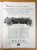 Antique 1927 Paris Newspaper L'Illustration, Standard Oil, Jaeger, Packard Cars