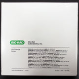 Bio-Rad C1000 Thermal Cycler CD Software, Manual and Quick Guide, Lab Research