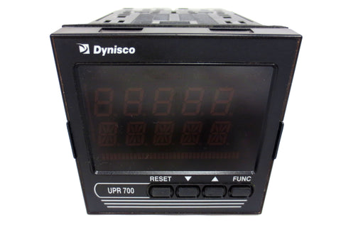 Dynisco Pressure/Process Indicator UPR700-0-0-3 Straingauge IN, Analog Re-Trans