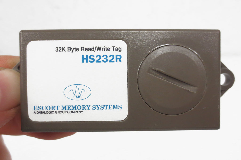 New Escort Memory Systems EMS Read/Write Tag HS232R, 32k Byte, RFID, Datalogic