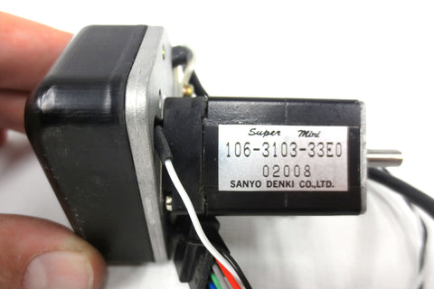New Sanyo Denki Super Mini Servo Motor Type 106-3103-33E0, Miniature Motor
