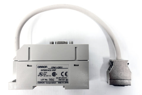 Omron Communication Interface Unit Adapter Connector CPM1-CIF01, RS232C, Japan