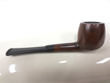 "Vintage Estate Tobacco Pipe Signed Junior Sportsman, 4 3/8"" Compact Pocket Pipe"