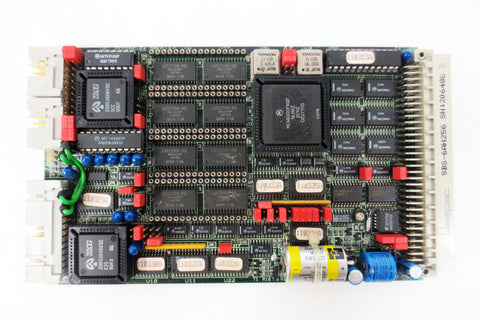 Gespac Dual Serial Interface Board Circuit Card GESSBS-6A, SBS-6AH256, SN 206488