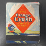 Vintage Orange Crush Soda Matches Dispenser, Enjoy Orange Crush Advertising
