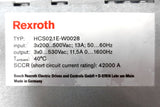 Rexroth Bosch IndraDrive C HCS02 and Indramat Card CSH01 with Original Box, Germany