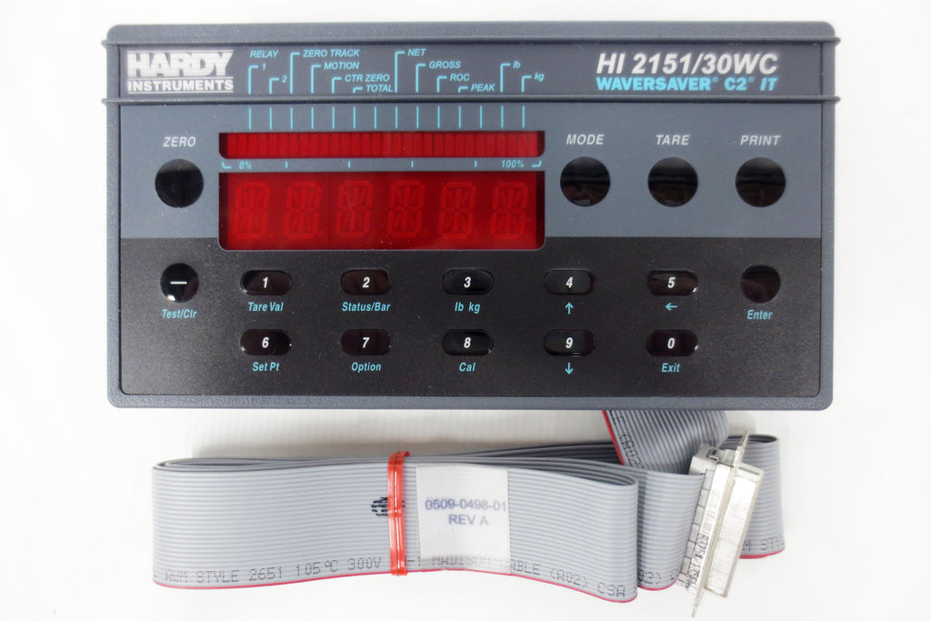 New Hardy Instruments Waversaver C2 IT, HI 2151/30WC Front Panel Display PWA