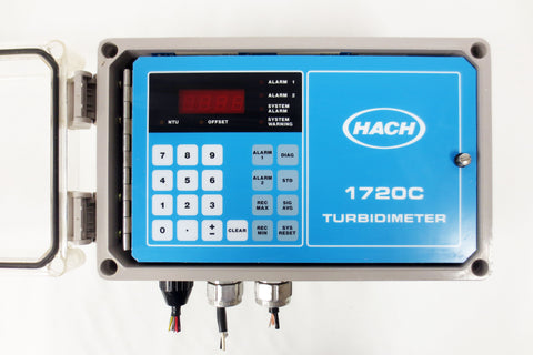 Hach Low Range Process Turbidimeter 1720C Control Panel Mod. 44000-10, 115/230V
