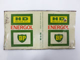 Vintage BP Energol Heavy Duty Motor Oil Tin Can 1 Quart, BP Canada Energol
