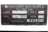 Harvard Apparatus Peristaltic Pump Mod. 1203 for Laboratories Hospital, Portable