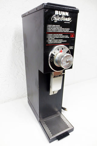 Bunn Coffee Grinder G3 22100 6003 Commercial, Coarse Fine Espresso Turkish 120V