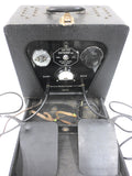 Vintage 1950s Medical Machine Diathermy Electrotherapy, Portable Tens Unit Works