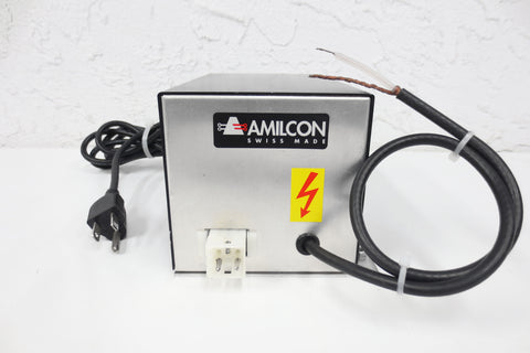 New Amilcon SP-138 Power Supply Transformer, In 196-253 VAC, Out 2350 VDC, Swiss