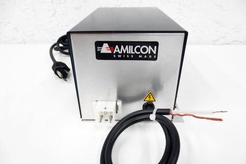 New Amilcon SP-138 Power Supply Transformer, Out 2350 VDC, In 196-253 VAC, Swiss