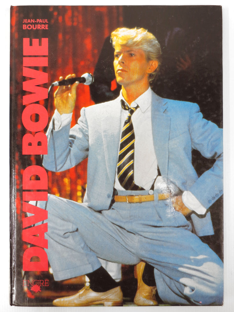 1984 David Bowie Book and Photo Album by Jean-Paul Bourre, David Jones, Ziggy
