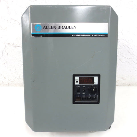 Allen Bradley Bulletin 1333-CAA Series B Adjustable Frequency AC Drive 3PH 230V
