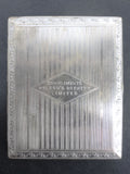 Vintage 1940's Molson's Beer Chrome Cigarette Case by Evans, Molson's Brewery