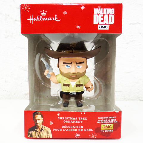 New Walking Dead Hallmark Keepsake Christmas Tree Ornament Figurine, TV Series