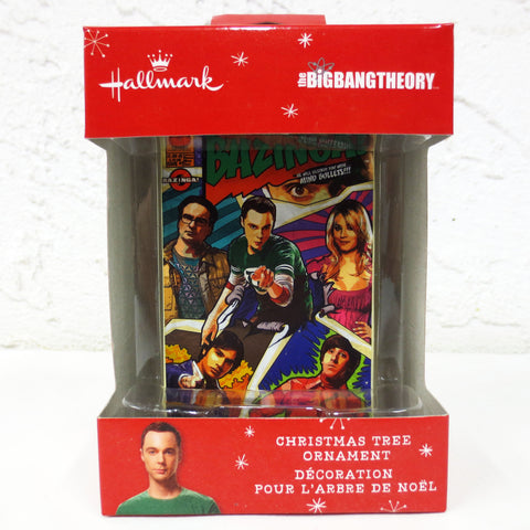 New Big Bang Theory Hallmark Keepsake Christmas Tree Ornament Figurine TV Series