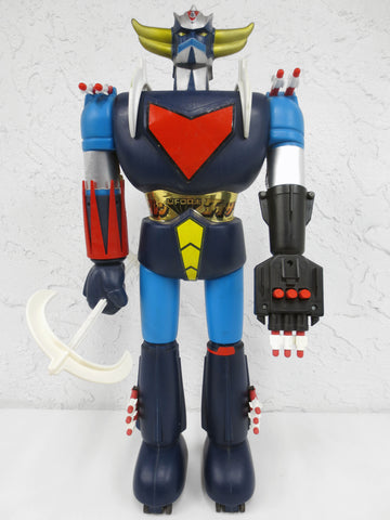 Vintage 1975 Goldorak Popy Jumbo Machinder 2 Feet Tall Robot, Shogun Warrior Godaikin Bandai, With 18 Accessories