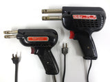 Weller Soldering Guns Pair, Junior Weller 8100 1.1 AMPS and Weller D550 2.5 AMPS