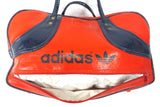 "Vintage Red Adidas 1970's Original Duffel Sports Gym Bag 18"", Tennis Sports Hand Bag"