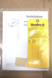 "New Bradley Halo Eye Wash Station on Pedestal 37"" w/ Box & Sealed Instructions"