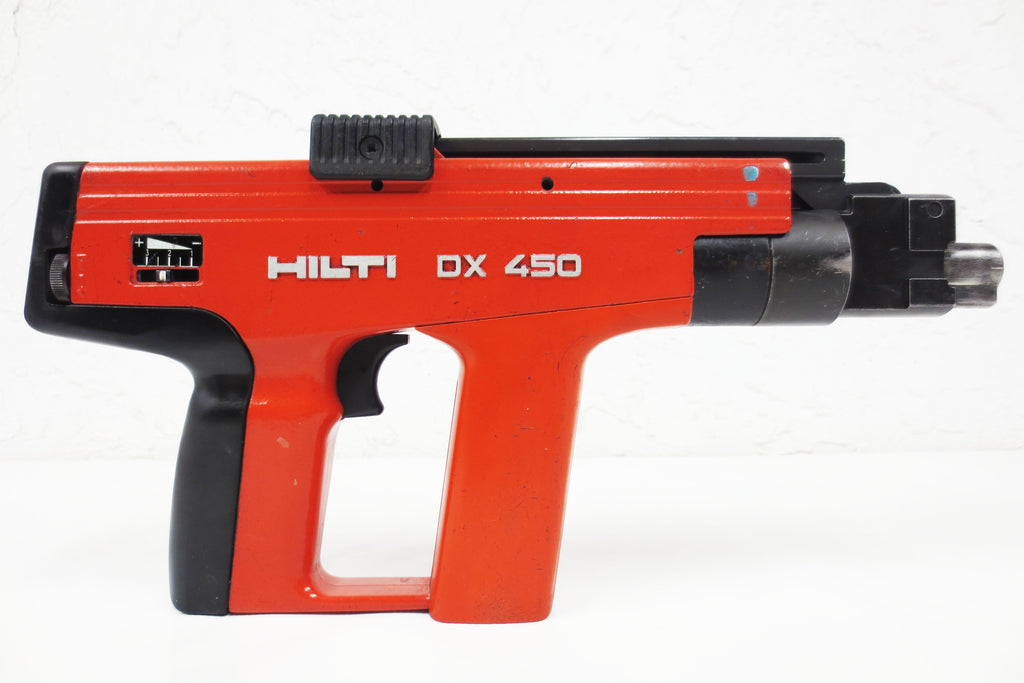 Hilti DX 450 Powder Actuated Nail Gun for Concrete & Steel, Fastening Tool #1