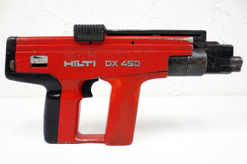 Hilti DX 450 Powder Actuated Nail Gun for Concrete & Steel, Fastening Tool #2