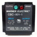 Warner Electric CBC-801-1 Clutch/Brake Control w/ Indicator Lights CBC80011