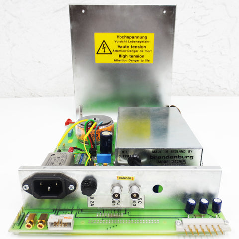 New Brandenburg 2479-P High Voltage DC Power Supply w/ Fisons ARL Controller Card