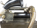 Antique Edison Wax Cylinder Dictaphone 10X Type A, Dictating Machine, Works