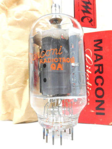 Vintage Marconi Citation 6JZ6 Glass Radio Vacuum Tube Bulb, Original Box, New Old Stock NOS