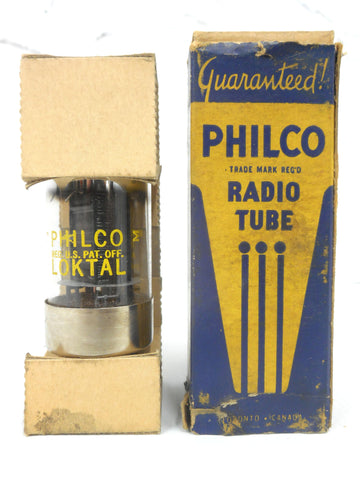 Vintage Ford Philco 7A5 Glass Radio Vacuum Tube Bulb, Original Box, New Old Stock NOS