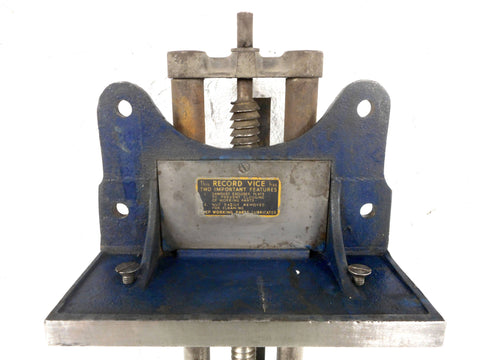 Terrific Vintage Record Bench Vise 52 1 2 With 13 Wide Jaw Beatyapartments Chair Design Images Beatyapartmentscom