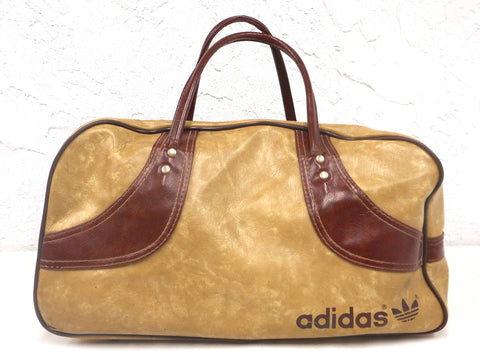 fccaf231db ... Vintage Adidas 1970s Original Duffel Sports Gym Bag 18