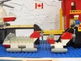Vintage 1977 Lego Canadian Coast Guards Station Tower & Sea Vehicles from Playset #575, Complete Build with Manual