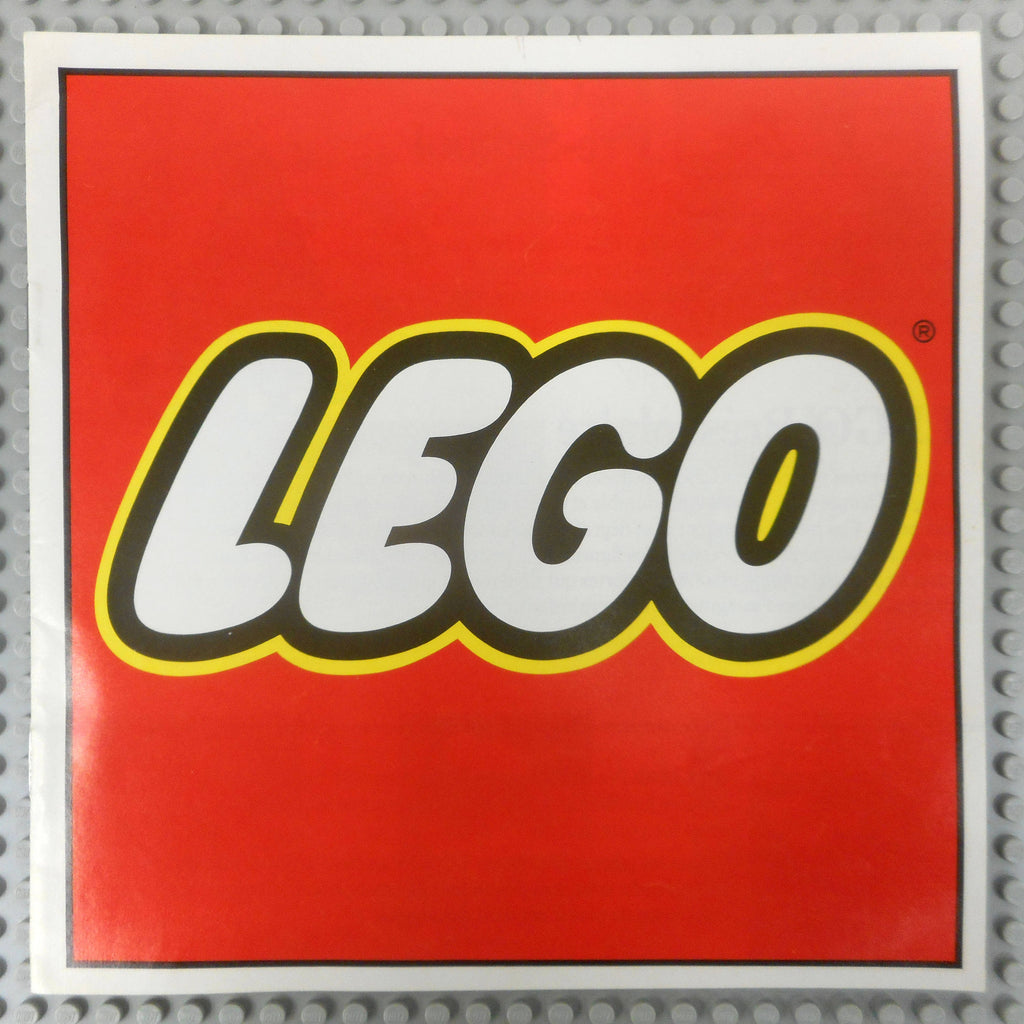 Vintage Original 1978's Lego Manual Booklet, Legoland Building Construction Motor Playsets Advertising 9 pages, Mint