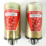 CP Clare & Co Mercury Wetted Contact Relay 8 Pins High Speed Model HGS 1058, Chicago, New Old Stock, NOS, Lot of 2