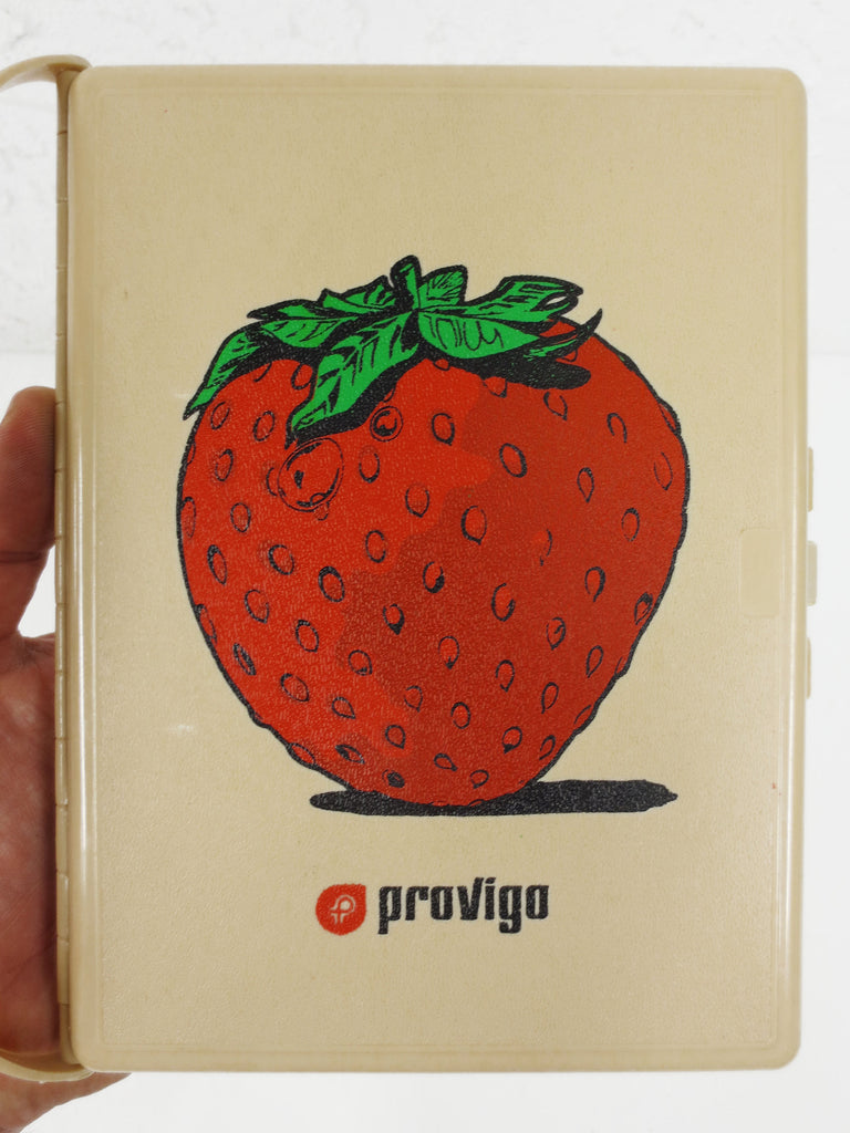 "Vintage Provigo Grocery Store 5X7"" Inventory Notepad Reminder Memorette, 180+ Grocery List Item Reminder, Quebec Food Chain"
