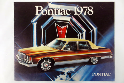 1978 Pontiac Parisienne, Grand Safari,  Catalina, Laurentian Car Brochure Booklet Advertising 15 pages