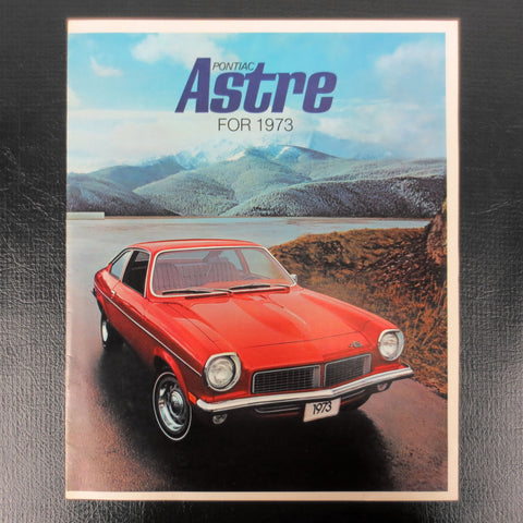 1973 Pontiac Astre GT, Coupe and Panel Car Brochure Booklet Advertising 11 pages, Car Dealers Collectors