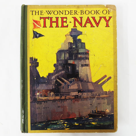 1920's Wonder Book of the Navy Military Army 300 Illustrations & Photos, Golding