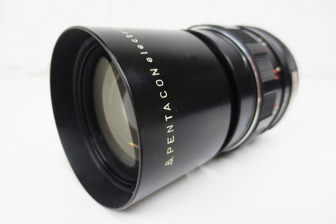 Pentacon Electric 2.8/135mm Camera Lens Zoom, M42 Mount, GDR Germany
