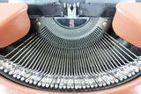 Vintage Olympia Diplomat Small Brown Portable Typewriter S Crown Serial 95-165297