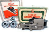 Singer Automatic Zigzagger 161102 Vtg 1950's Sewing Machine Attachment w/ Manual